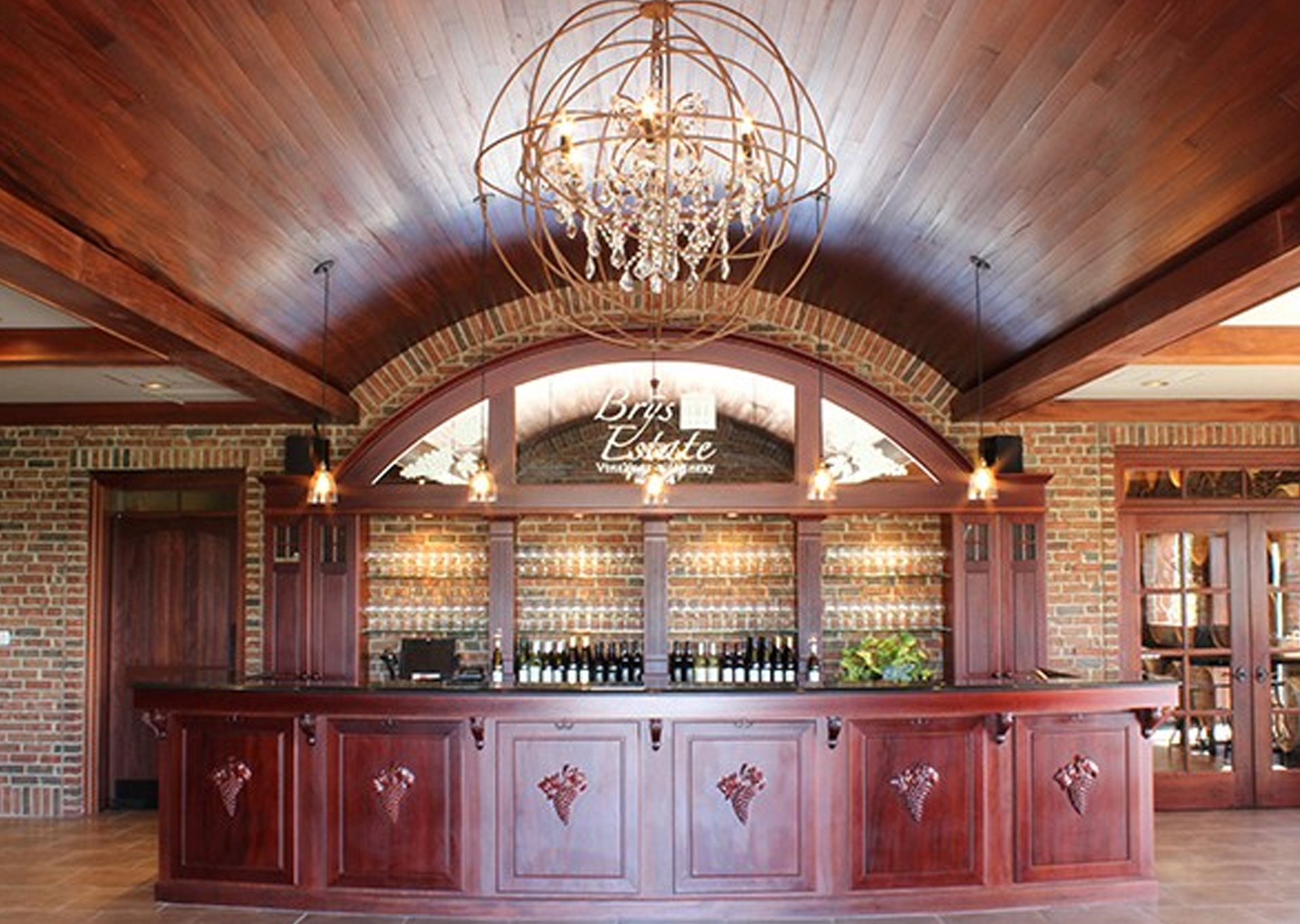 brys estate vineyard & winery tasting room